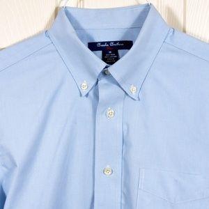 🟢Bundle2for$29 BrooksBros Youth 16 Cotton Shirt